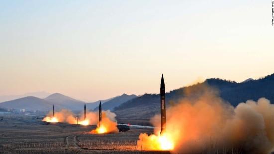 korean misille launches