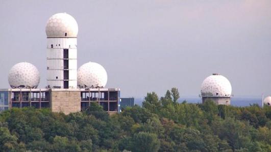 spy center Teufelsberg W Berlin